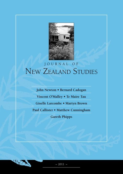 Journal of New Zealand Studies Num. 10 2011