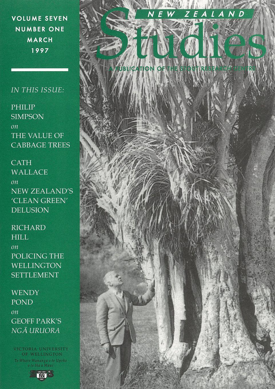 New Zealand Studies 1997 Vol.7 No.1