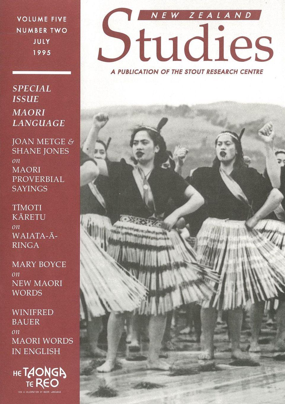New Zealand Studies 1995 Vol.5 No.2