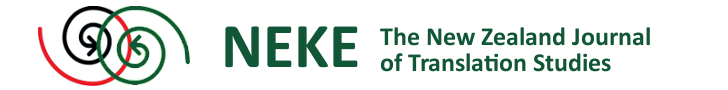 Neke The New Zealand Journal of Translation Studies