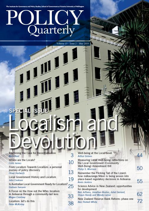 Policy Quarterly