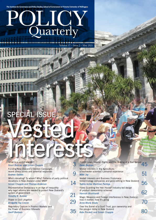 View Vol. 17 No. 2 (2021): Special issue: Vested Interests